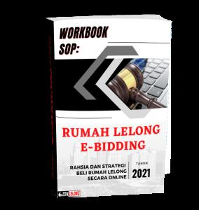 Ebook Cover - Workbook SOP Rumah Lelong e-Bidding